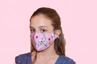 Антисмог маска за деца розова