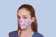 Предпазна маска за деца розова